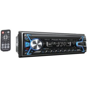 Power Acoustik PL-51B Single-DIN In-Dash Digital Audio Receiver (Bluetooth