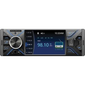 Power Acoustik PL-430HB PL-430HB 4.3-Inch Single-DIN In-Dash DVD Receiver with Bluetooth