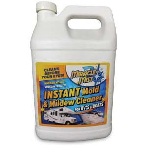 MiracleMist MMRV-1 Instant Mold and Mildew Cleaner for RVs and Boats (1 Gallon)
