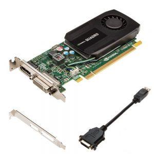 1GB HP nVIDIA Quadro K600 DDR3 DisplayPort DVI PCI Express Graphic Card C2J92AA