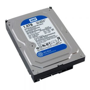 1TB Western Digital Caviar Blue SATA3 7200RPM 64MB Hard Drive 3.5in WD10EZEX