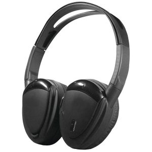 Power Acoustik HP-900S 2-Channel RF 900MHz Wireless Headphones with Swivel Earpads for Power Acoustik Mobile A/V Systems