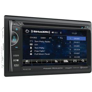 "Power Acoustik PH-620SXMB 6.2"" Double-DIN In-Dash DVD/SiriusXM Radio Bundle with 3 Months Free Service"