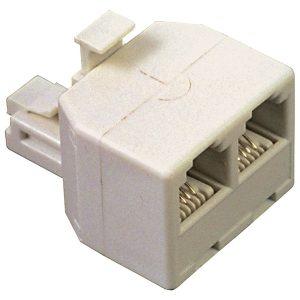RCA TP257R Duplex Modular Jack