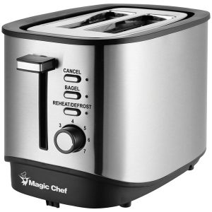 Magic Chef MCST2SS 2-Slice Toaster