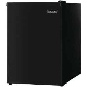 Magic Chef MCBR240B1 2.4 Cubic-ft Refrigerator (Black)