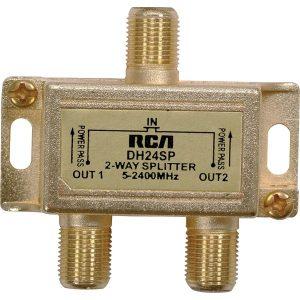 RCA DH24SPE 3GHz Digital Plus 2-Way Splitter