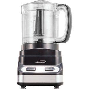 Brentwood Appliances FP-547 3-Cup Mini Food Processor (Black)