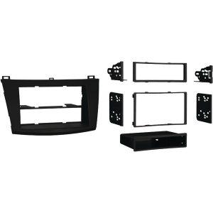 Metra 99-7514B Single- or Double-DIN Installation Kit for 2010 through 2013 Mazda 3