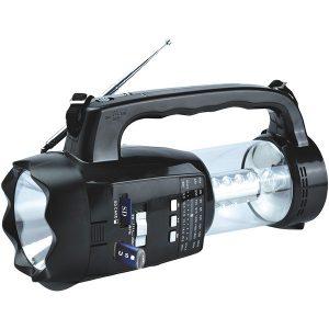 Supersonic SC-1093 20-LED 3-Way Emergency Radio