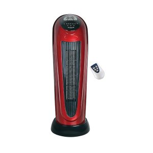 "Optimus H-7328 22"" Oscillating Tower Heater with Digital Readout"