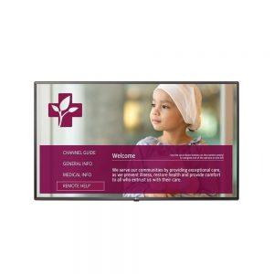 23.6 LG 24LV570M 1366x768 HDMI USB LAN Hospital LED TV 24LV570M/US