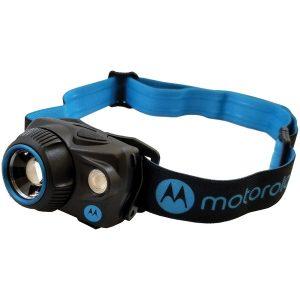 Motorola MHP250 250-Lumen Headlamp with Motion Sensing and Adjustable Spot to Beam Flood