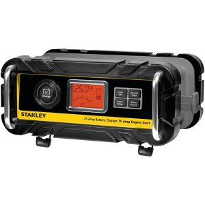STANLEY BC25BS Battery Charger/Maintainer with Engine Start (25-Amp Charger