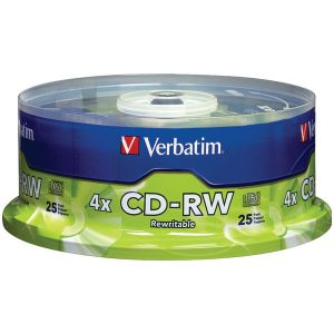 Verbatim 95169 700MB CD-RWs with Branded Surface