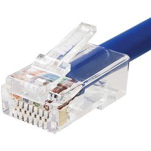 IDEAL 85-367 CAT6 RJ-45 8P8C Single Piece Modular Plugs