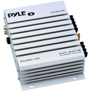 Pyle PLMRA120 Hydra Series Waterproof 240-Watt 2-Channel Marine Class AB Amp