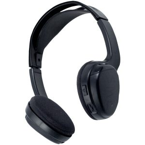 Power Acoustik WLHP-200 2-Channel Wireless IR Headphones for Power Acoustik Mobile A/V Systems