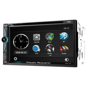 Power Acoustik CPAA-70D CPAA-70D 7-Inch Double-DIN In-Dash DVD Receiver with Bluetooth