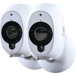 Swann SWWHD-INTCAMPK2-US 1080p Full HD Battery-Powered Wire-Free Camera (2 pk)