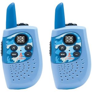 Cobra HE130B HE130B 16-Mile 2-Way Radios/Walkie Talkies (Blue/Camo)
