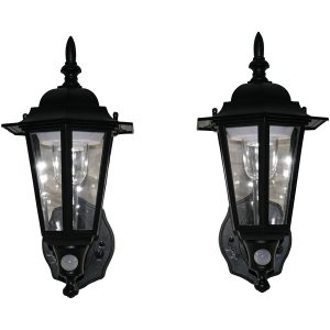 MAXSA Innovations 44719-2PACK Battery-Powered Motion-Activated Plastic LED Wall Sconce