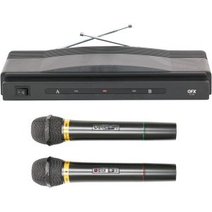 QFX M-336 Wireless Dynamic Microphone System