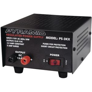 Pyramid Car Audio PS3KX 2.5-Amp Bench Power Supply