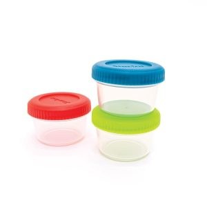 Starfrit 095461-004-0000 Easy Lunch Set of 3 Mini Containers