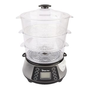 Magic Chef MCSFS12ST 3-Tier Electric Food Steamer