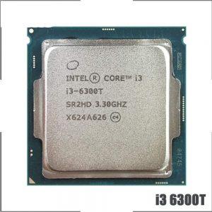 3.30GHz Intel Dual Core i3-6300T 4MB Cache FCLGA1151 CPU SR2HD