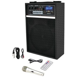 "Pyle Pro PWMAB250BK 300-Watt Bluetooth 6.5"" Portable PA Speaker System"