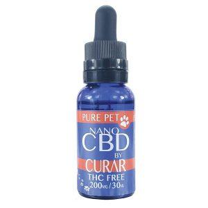 Curar CDN200P Drop Pure Pet CBD Relief Drops for Pets