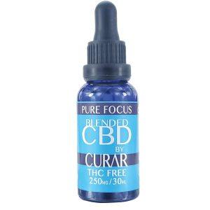 Curar CDB250F Pure Focus CBD Blend Drops