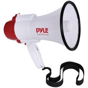 Pyle PMP39VC 30-Watt Megaphone Bullhorn with Siren & Voice Changer Modes