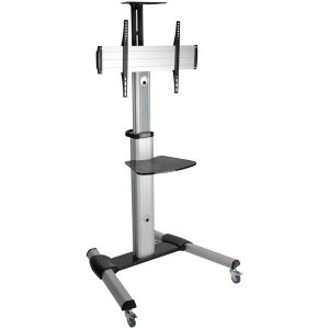 Tripp Lite DMCS3270XP 32-Inch to 70-Inch Mobile Floor Stand for Flat Panel and Curved TVs and Monitors