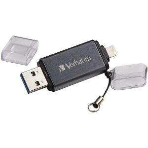 Verbatim 49300 iStore 'n' Go USB 3.0 Flash Drive with Lightning Connector (32GB)