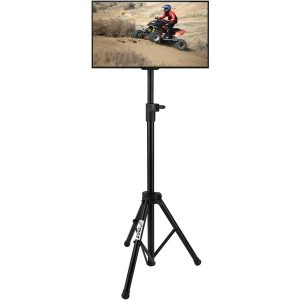 """Pyle Home PTVSTNDPT3215 Portable Tripod TV Stand (Up to 32"""")"""