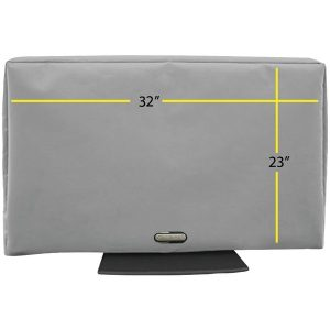"""Solaire SOL 32G-2 Outdoor TV Cover (32""""-38"""")"""