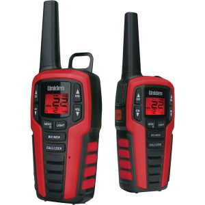 Uniden SX327-2CK 32-Mile 2-Way FRS/GMRS Radios (No Headsets)
