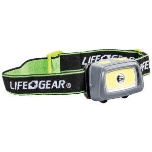 Life+Gear 41-3912 330-Lumen Spot & Flood COB Headlamp