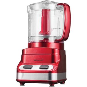 Brentwood Appliances FP-548 3-Cup Mini Food Processor (Red)