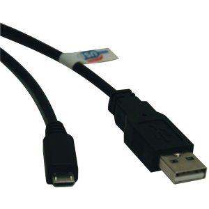 Tripp Lite U050-003 USB 2.0 Hi-Speed A-Male to Micro B-Male Cable (3ft)