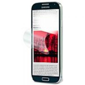 3M NV829813 Natural View Screen Protectors for Samsung Galaxy S 4 Crystal Clear - Smartphone