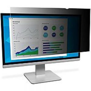 3M Privacy Screen Filter - For 21.5 Widescreen Monitor - 16:9 - Satin