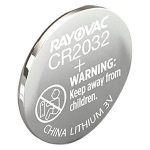 RAYOVAC KECR2032-1C 3-Volt Lithium 2032 Keyless Entry Battery