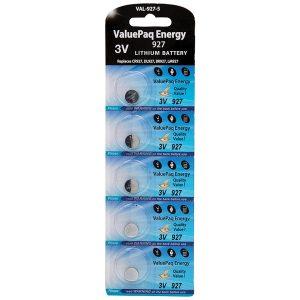Dantona VAL-927-5 ValuePaq Energy 927 Lithium Coin Cell Batteries