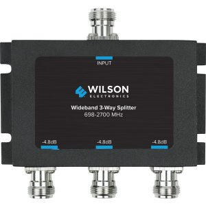 Wilson Electronics 859980 50-Ohm 3-Way Cellular Signal Splitter with N-Female Connectors