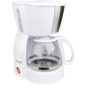 Brentwood Appliances TS-213W 4-Cup Coffee Maker (White)