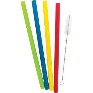 Starfrit 092849-006-0000 Reusable Silicone Straws